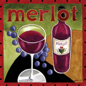 Merlot Wine Artist 240-25a-4 Micro Fiber Cleaning Cloth