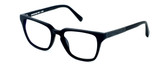 Parkman Handcrafted Eyeglasses Bradfield in Matte-Black with Denim ; Made in the USA :: Custom Left & Right Lens