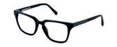 Parkman Handcrafted Eyeglasses Bradfield in Matte-Black with Denim ; Made in the USA :: Progressive