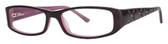 Calabria Viv 685 Purple Designer Reading Glasses