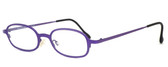 Harry Lary's French Optical Eyewear Bart Reading Glasses in Violet (176)