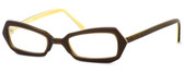 Harry Lary's French Optical Eyewear Blondy Reading Glasses in Amber (307)
