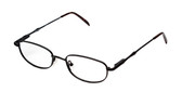 Reptile Designer Reading Glasses Monitor in Matte Black
