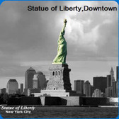 New York Scenery Cleaning Cloths: Statue Of Liberty