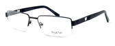 """Calabria Optical Designer Eyeglasses """"Big And Tall"""" Style 7 in Black :: Rx Bi-Focal"""