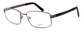 """Calabria Optical Designer Eyeglasses """"Big And Tall"""" Style 12 in Brown :: Rx Bi-Focal"""