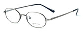 Calabria MetalFlex U Pewter Designer Eyeglasses P in Antique Pewter :: Rx Bi-Focal