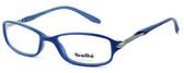 Bollé Designer Eyeglasses Elysee in Opaque Blue 70218 50mm :: Rx Bi-Focal