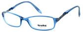 Bolle Designer Reading Glasses Elysee in Crystal Blue 70219 50mm