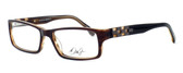 Dale Earnhardt, Jr. Eyeglass Collection 6756 in Brown :: Rx Single Vision