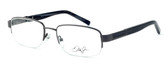 Dale Earnhardt, Jr. Eyeglass Collection 6794 in Gunmetal :: Custom Left & Right Lens