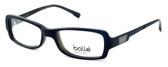 Bollé Bastia Designer Eyeglasses in Shiny Black Grey :: Rx Single Vision