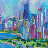 Landscapes Theme Cities 240-11c-5 Artist Micro Fiber Cleaning Cloth