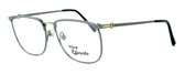 Fashion Optical Designer Eyeglasses E2055 in Gunmetal 57mm :: Rx Bi-Focal