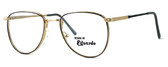Regency International Designer Eyeglasses Dover in Gold Grey 52mm :: Rx Bi-Focal