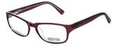 Kenneth Cole Reaction Designer Reading Glasses KC0743-050 in Transparent-Burgundy