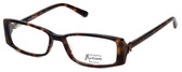 Guess by Marciano Designer Eyeglasses GM146-TO in Tortoise :: Custom Left & Right Lens