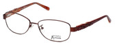 Guess by Marciano Designer Eyeglasses GM155-COP in Copper :: Custom Left & Right Lens