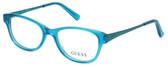 Guess Designer Eyeglasses GU9135-089 in Turquoise :: Rx Single Vision