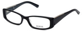 Guess Designer Eyeglasses GU2385-BKGRY in Black-Grey :: Progressive