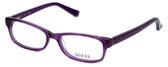 Guess Designer Eyeglasses GU2517-081 in Violet :: Progressive