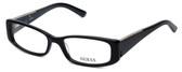 Guess Designer Eyeglasses GU2385-BKGRY in Black-Grey :: Rx Bi-Focal