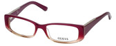 Guess Designer Eyeglasses GU2385-PUR in Purple :: Rx Bi-Focal