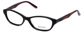 Guess Designer Eyeglasses GU2417-BLK in Black :: Rx Bi-Focal