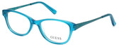 Guess Designer Reading Glasses GU9135-089 in Turquoise