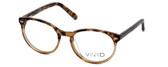 Calabria Viv Designer Eyeglasses 822 in Demi-Brown :: Progressive
