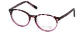 Calabria Viv Designer Eyeglasses 822 in Demi-Lilac :: Progressive