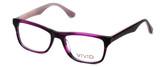 Calabria Viv Designer Eyeglasses 857 in Lilac :: Progressive