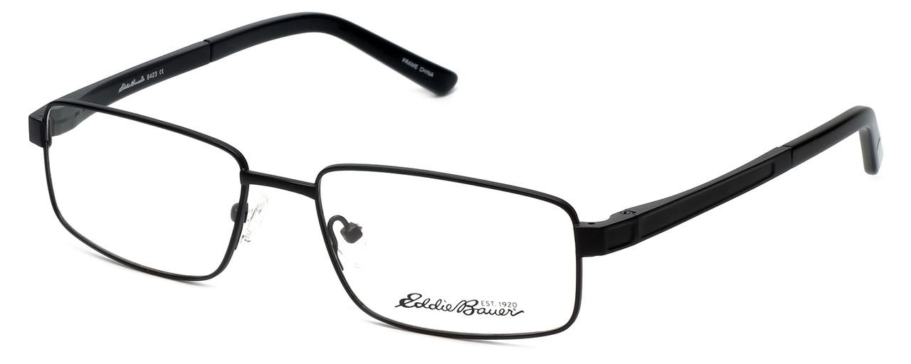 Eddie Bauer Designer Reading Glasses EB8423 in Black 56mm - Low ...