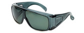 CALABRIA 1003PL Polarized Economy Fitover with UV PROTECTION IN GREY