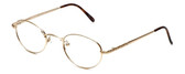 Flex Collection Designer Eyeglasses FL-30 in Gold 48mm :: Rx Bi-Focal