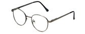 Flex Collection Designer Eyeglasses FL-43 in Ant-Pewter 48mm :: Rx Bi-Focal