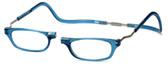 Clic Magnetic Eyewear XXL Fit Original Style in Blue Jean :: Rx Single Vision