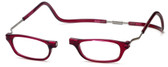 Clic Magnetic Eyewear XXL Fit Original Style in Bordeaux