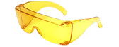 Calabria 3000S Over Glasses UV Protection in Yellow