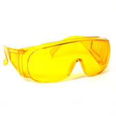1003Y Over Glasses UV Protection in Yellow