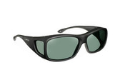 Haven Designer Fitover Sunglasses Denali in Black & Polarized Grey Lens (MEDIUM/LARGE)