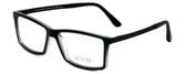 Calabria Viv Designer Eyeglasses 243 in Black 53mm :: Rx Bi-Focal