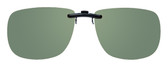 Montana Eyewear Clip-On Sunglasses C12A in Polarized G15 Green 54mm