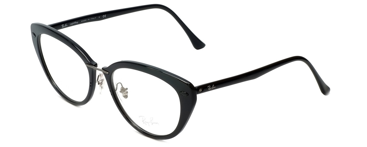 762a33a94a0d Ray-Ban Designer Reading Glasses RB7088-2000 in Black 52mm - Low ...