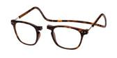 Clic Magnetic Eyewear Regular Fit Manhattan in Tortoise :: Custom Left & Right Lens