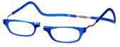 Clic Magnetic Eyewear XXL Fit Original Style in Blue