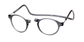 Clic Magnetic Eyewear Regular Fit Brooklyn in Grey