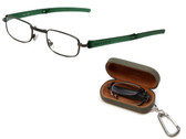 Field & Stream Designer Folding Reading Glasses RFL1