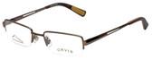 Orvis Designer Eyeglasses Streamline in Light-Brown 47mm :: Rx Single Vision