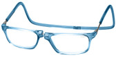 Clic Magnetic Eyewear Long Fit Executive Style in Blue Jeans
